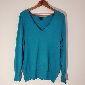 Lane Bryant Teal Sweater